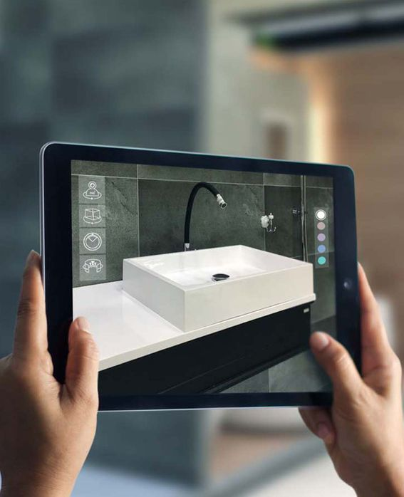 3D-Badplanung am Tablet